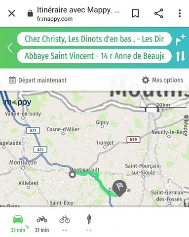 Gorges de la Bouble Chantelle nature paysage Abbaye a seulement 10 km de chez christy saint bonnet de four en Allier