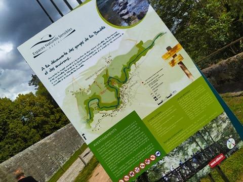 visite gorge de la bouble chantelle à 10 km de chez christy saintbonnetdefour